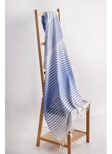 Denizli Concept Gölge Saraylı Peştemal Mavi